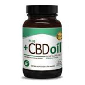PLUS CBD Oil Green Hemp 60 Capsuls