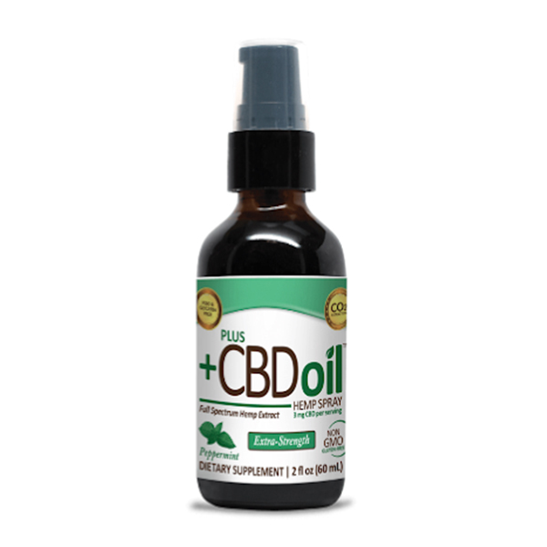 PLUS CBD Oil Green Hemp Spray